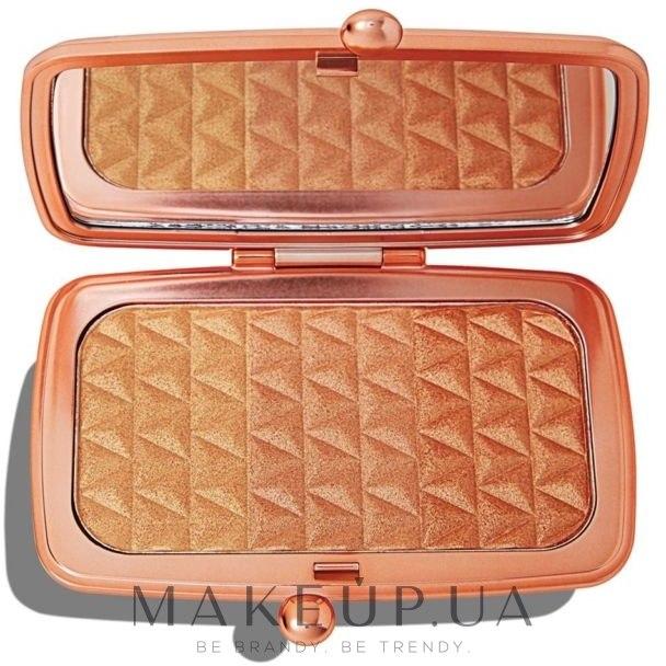 Палитра хайлайтеров для лица - Makeup Revolution Renaissance Illuminate Highlighter Palettes — фото Blissful Bronze
