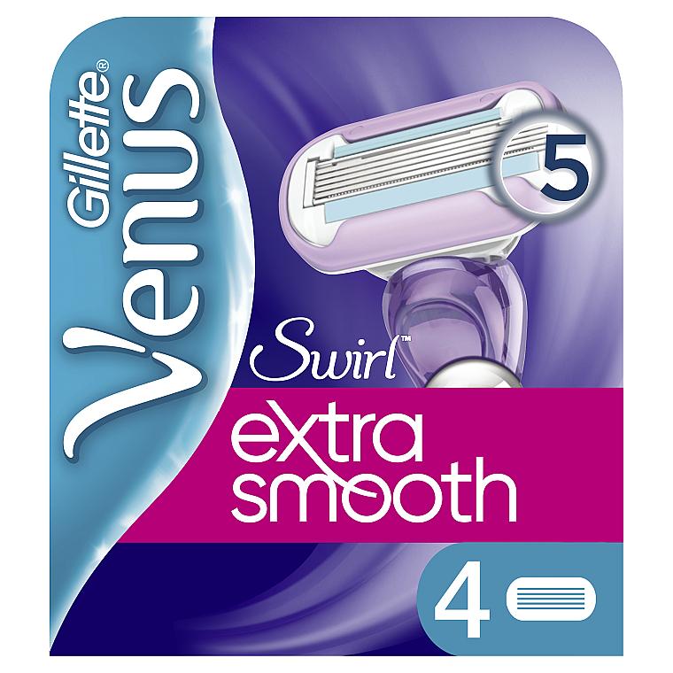 Сменные кассеты для бритья, 4 шт. - Gillette Venus Swirl
