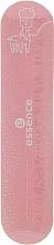 Духи, Парфюмерия, косметика Ароматная мини-пилочка для ногтей, розовая с ламой - Essence Studio Nails Sweet Mini File
