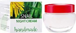 Духи, Парфюмерия, косметика Крем для лица с экстрактом улитки - Hristina Cosmetics Handmade Snail Night Cream