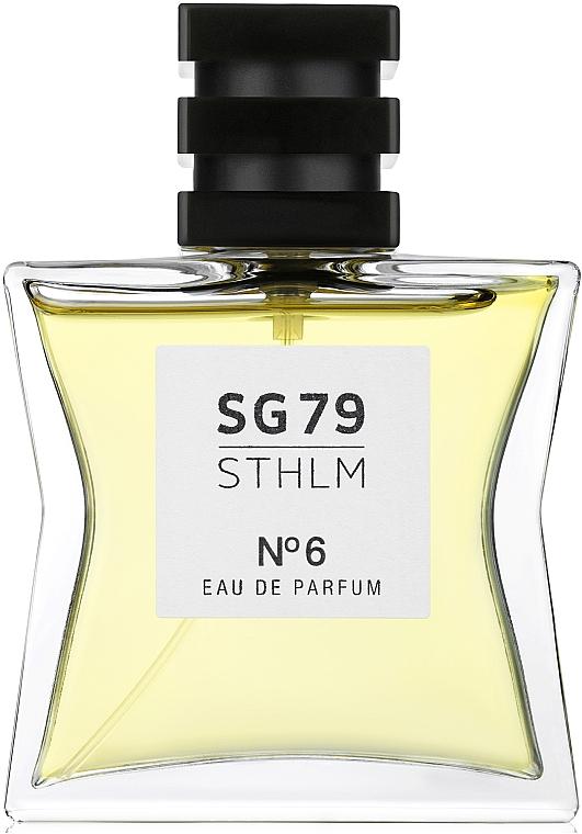 SG79 STHLM № 6 - Парфюмированная вода