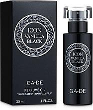 Духи, Парфюмерия, косметика Ga-De Icon Vanilla Black - Парфюмированное масло