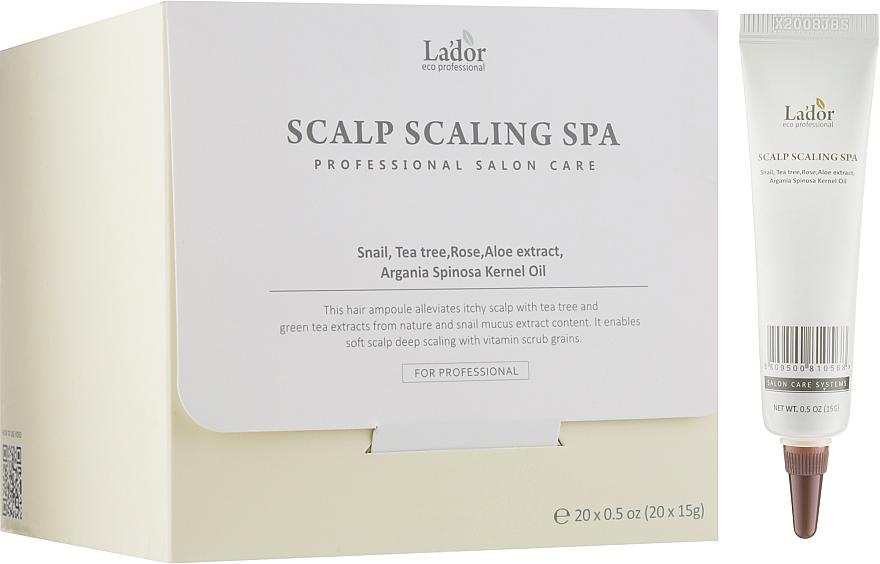 Сыворотка-пилинг для кожи головы - La'dor Scalp Scaling Spa Hair Ampoule