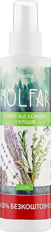 Спрей от комаров и клещей - J'erelia Molfar