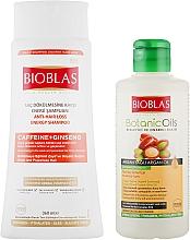Духи, Парфюмерия, косметика Набор - Bioblas Caffeine + Ginseng Shampoo(shm/360ml + shm/150ml)
