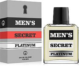 Духи, Парфюмерия, косметика Gianni Gentile Men's Secret Platinum - Одеколон