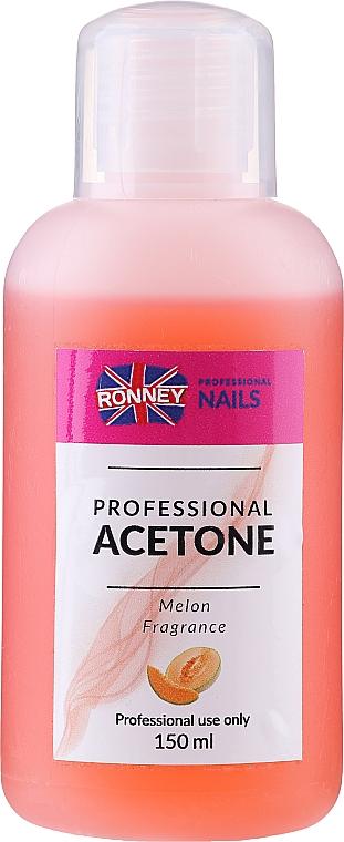 "Средство для снятия лака ""Дыня"" - Ronney Professional Acetone Melon"