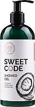 Духи, Парфюмерия, косметика Питательный кокосовый гель для душа для сухой и нормальной кожи - Good Mood Sweet Code Shower Gel