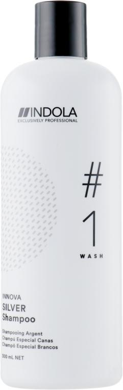Шампунь для окрашенных волос с серебристым эффектом - Indola Innova Color Silver Shampoo