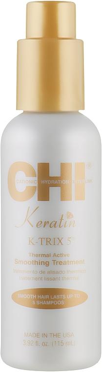 Разглаживающее средство для волос - CHI Keratin K-Trix 5 Smoothing Treatment
