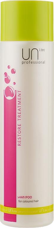 Шампунь для окрашенных волос - UNi.tec Professional Restore Treatment Shampoo