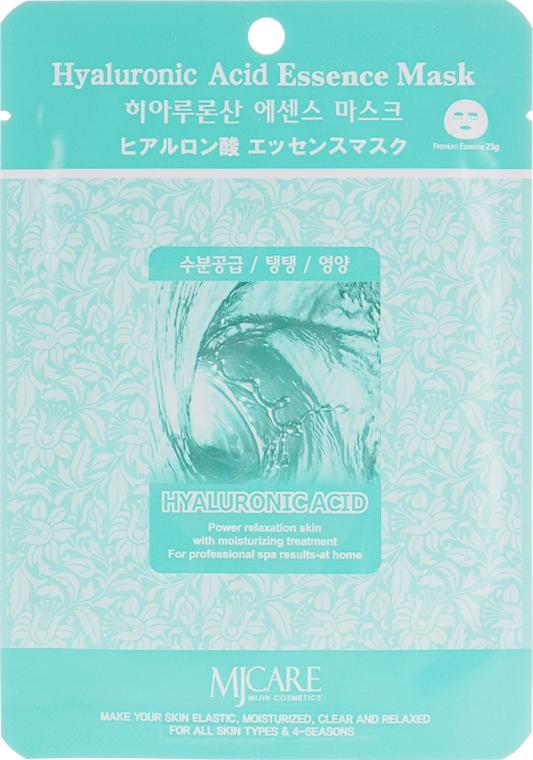 Тканевая маска для лица с гиалуроновой кислотой - Mijin Hyaluronic Acid Essence Mask