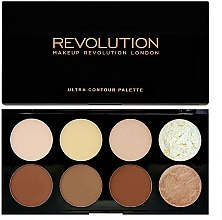 Парфумерія, косметика Makeup Revolution Ultra Contour Palette - Палетка для контурингу