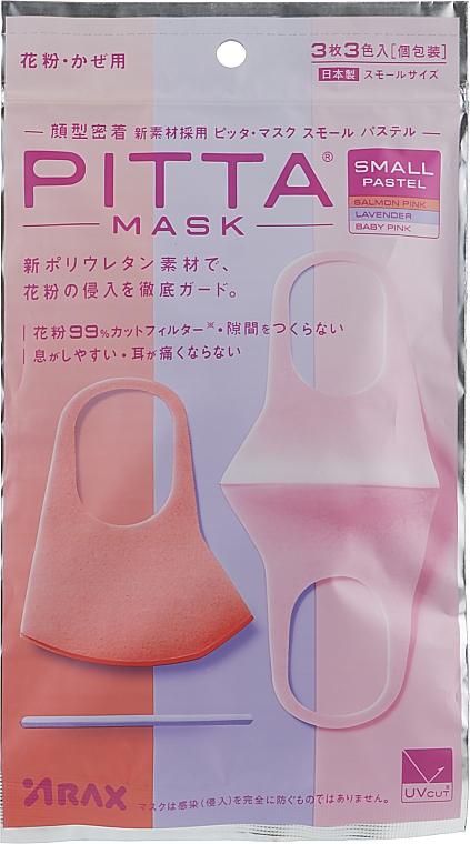 Набор защитных масок, 3шт - ARAX Pitta Mask Pastel