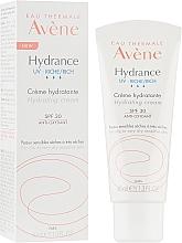 Духи, Парфюмерия, косметика Увлажняющий крем для лица - Avene Eau Thermale Hydrance Rich Hydrating Cream SPF 30