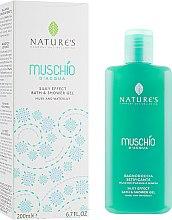 Духи, Парфюмерия, косметика Гель для ванны и душа - Nature's Muschio D'Acqua Bath & Shower Gel