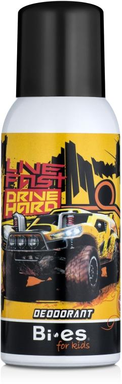 Дезодорант-спрей для детей - Bi-es Deodorant For Kids Hot Wheels Land Cruiser