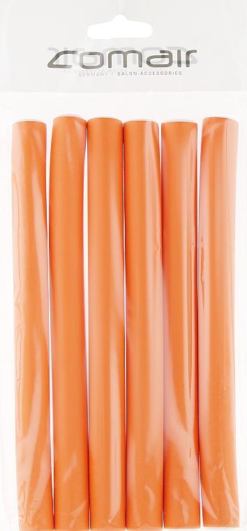 "Бигуди ""Flex"" оранжевые 170mm, d17 - Comair"