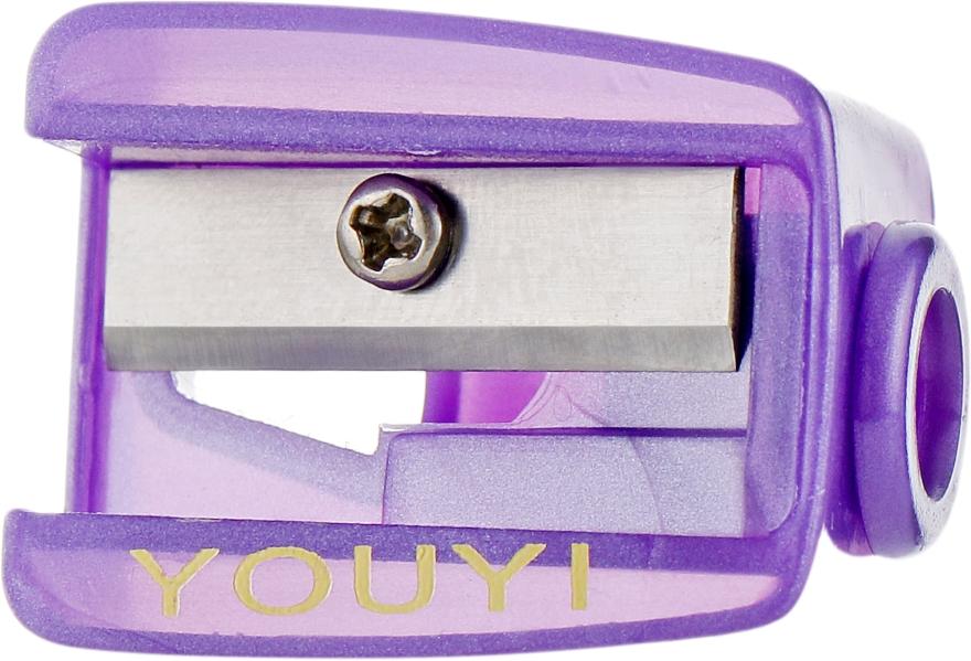 Точилка одинарная, Т0002, фиолетовая - Rapira