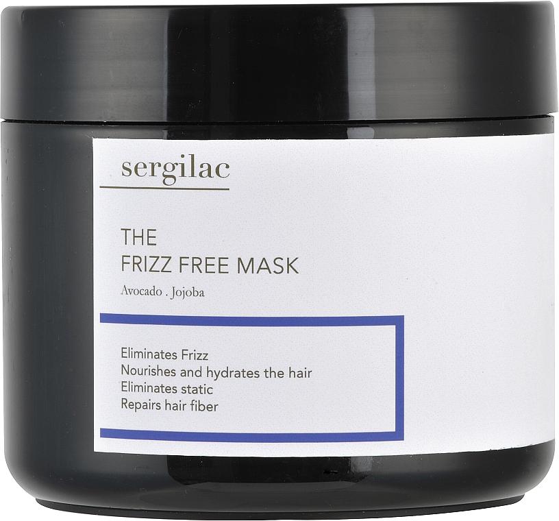 Маска для волос с антистатическим эффектом - Sergilac The Frizz Free Mask