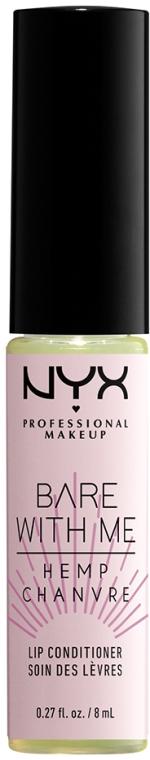 Кондиционер для губ - NYX Professional Makeup Bare With Me Hemp Lip Conditioner