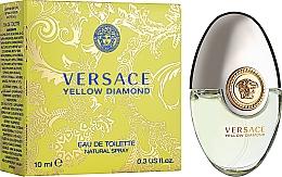 Парфумерія, косметика Versace Yellow Diamond - Туалетна вода (міні)