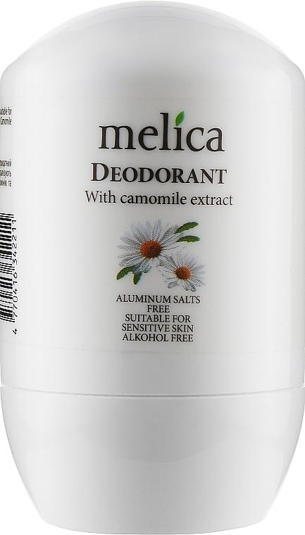Дезодорант с экстрактом ромашки - Melica With Сamomille Extract Deodorant