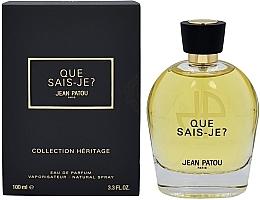 Духи, Парфюмерия, косметика Jean Patou Collection Heritage Que Sais-Je? - Парфюмированная вода