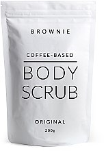 Духи, Парфюмерия, косметика УЦЕНКА Скраб для тела на основе кофе - Brownie Original Scrub *