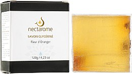 Духи, Парфюмерия, косметика Мыло глицериновое с цветами апельсина - Nectarome Soap With Orange Blossom