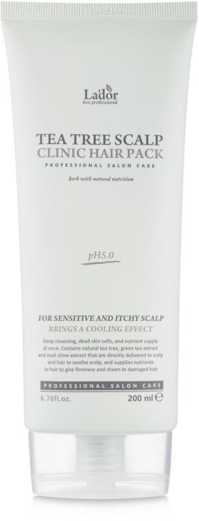 Маска для кожи головы с чайным деревом - La'dor Tea Tree Scalp Clinic Hair Pack