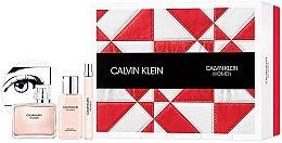 Духи, Парфюмерия, косметика Calvin Klein Women - Набор (edp/100ml + b/lot/100ml + edp/10ml)