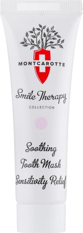 Успокаивающая маска для снятия чувствительности и дискомфорта десен и зубов - MontCarotte Soothing Tooth Mask Sensitivity Relief — фото N2