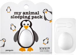 "Духи, Парфюмерия, косметика Маска для лица ""Пингвин"" - Lofloy My Animal Sleeping Pack"
