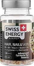 "Духи, Парфюмерия, косметика Витамины в капсулах ""Волосы, ногти и кожа"" - Swiss Energy Hair, Nail & Skin"