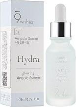 Духи, Парфюмерия, косметика Сыворотка гиалуроновая для лица - 9 Wishes Hydra Skin Ampule Serum