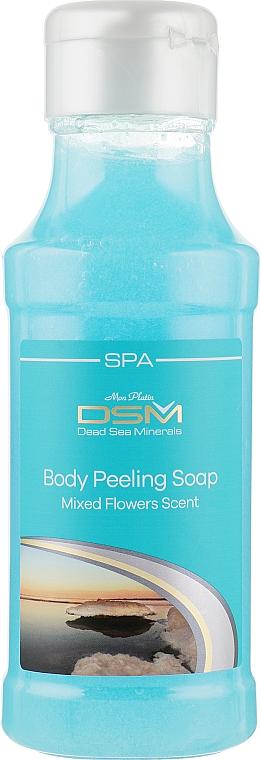 "Мыло пилинг для тела ""Аромат Цветов"" - Mon Platin DSM Moisturising Body Peeling Soap"