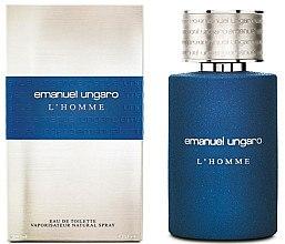 Духи, Парфюмерия, косметика Ungaro L'Homme - Туалетная вода