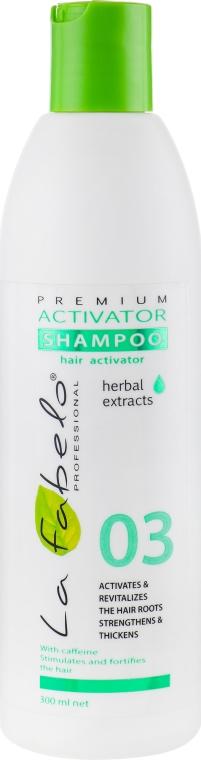 Шампунь-активатор роста волос - La Fabelo Premium 03 Activator