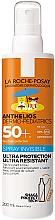 Духи, Парфюмерия, косметика Детский солнцезащитный ультралегкий спрей для лица и тела SPF50+ - La Roche-Posay Anthelios Dermo-Pediatrics Invisible Spray