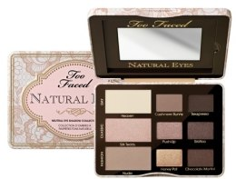 Палетка теней для век - Too Faced Natural Eyes Neutral Eye Shadow Collection — фото N1