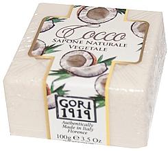 "Духи, Парфюмерия, косметика Мыло ""Кокос"" - Gori 1919 Coconut Natural Vegetable Soap"