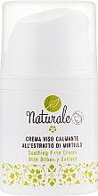 Духи, Парфюмерия, косметика РАСПРОДАЖА Успокаивающий крем для лица - Delta Studio Naturale Soothing Bilberry Extract Face Cream *