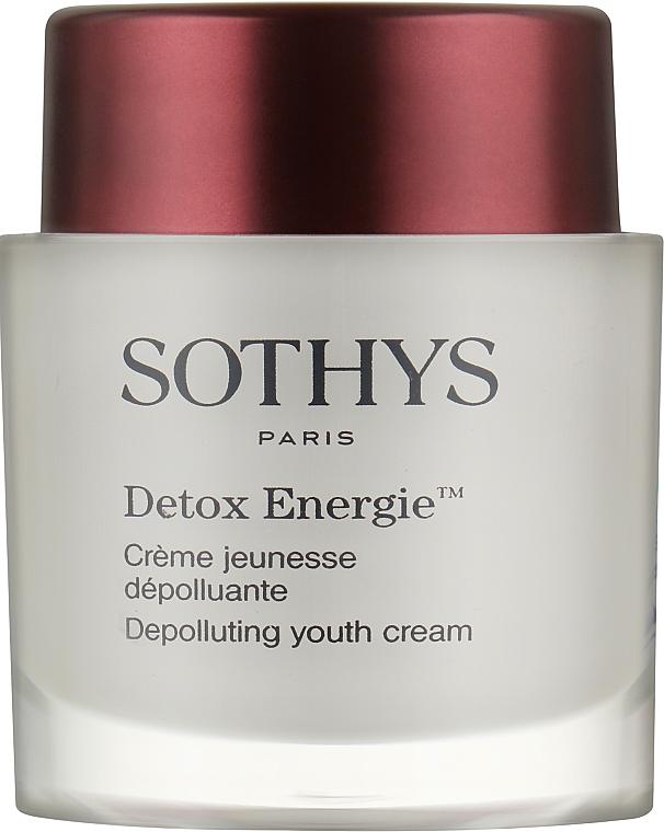 Омолаживающий энергонасыщающий детокс-крем для лица - Sothys Detox Energie Depolluting Youth Cream