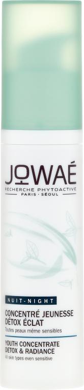 Осветляющая сыворотка для лица - Jowae Night Youth Concentrate Detox & Radiance — фото N2