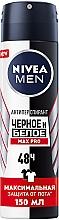 """Духи, Парфюмерия, косметика Антиперспирант """"Черное и Белое"""" - Nivea Men Max Pro 48H Antiperspirant Spray"""