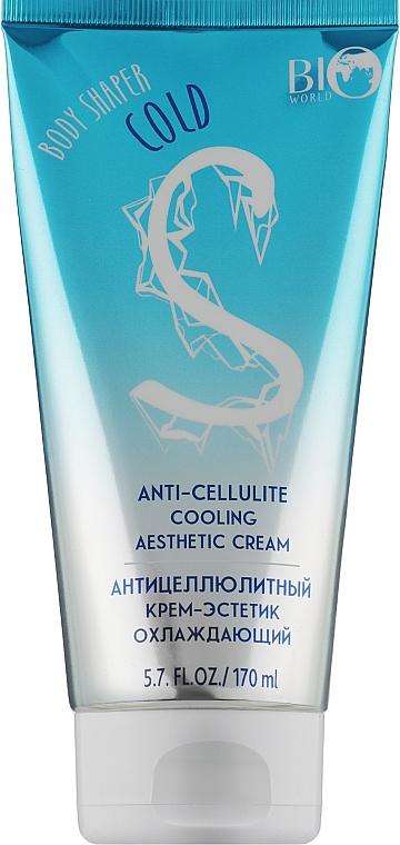 Антицеллюлитный крем-эстетик охлаждающий - Bio World Anti-cellulite Cooling Aesthetic Cream