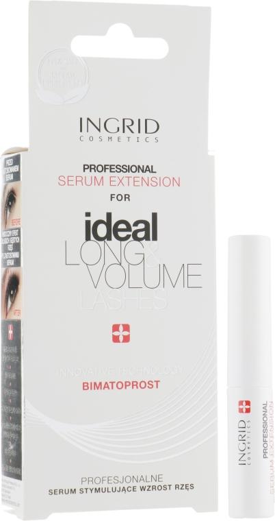 Сыворотка для стимулирования роста ресниц - Ingrid Cosmetics Ideal Long & Volume Lashes Serum