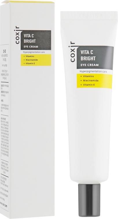 Крем для кожи вокруг глаз с витаминами - Coxir Vita C Bright Eye Cream