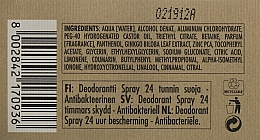 Дезодорант з екстрактом гінкго білоба - athena's Erboristica Uomo Deodorant Spray — фото N3